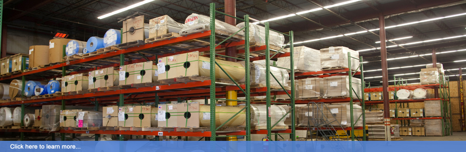 MPI Release's 65,000 square foot modern warehouse