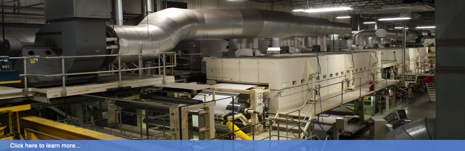 MPI's Polytype Thermal Coater can coat both sides of a substrate